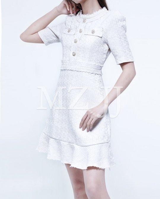 OP13523WH Dress