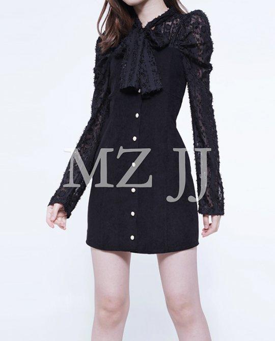 OP13529BK Dress