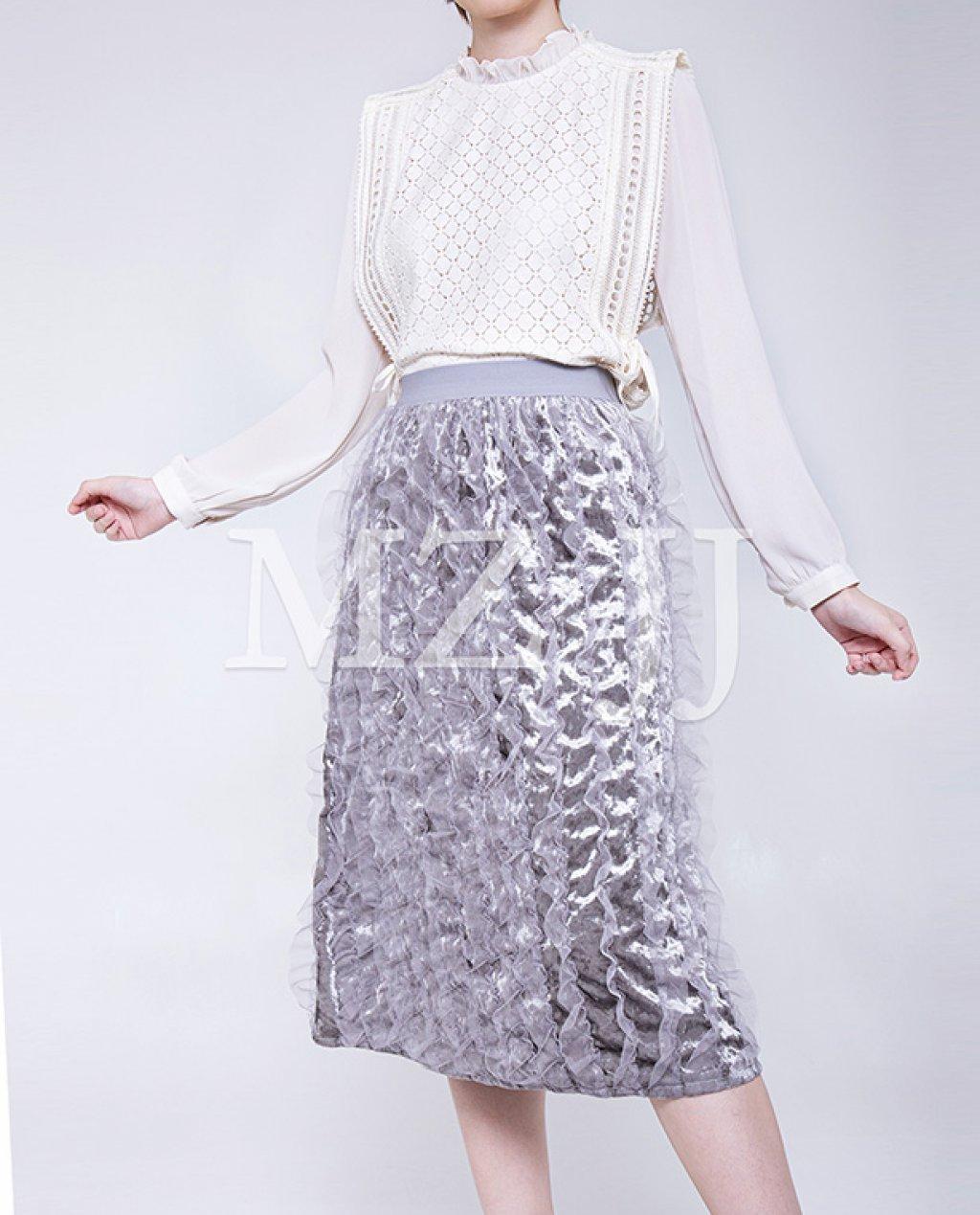 SK10977LGY Skirt