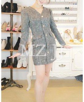 OP14158LGY Dress