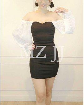 OP14181WH Dress