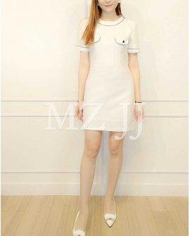 OP14217WH Dress