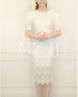 OP14222WH Dress