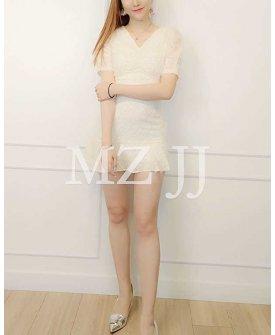 OP14224WH Dress