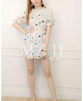 OP14228WH Dress