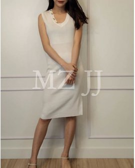 OP14238WH Dress