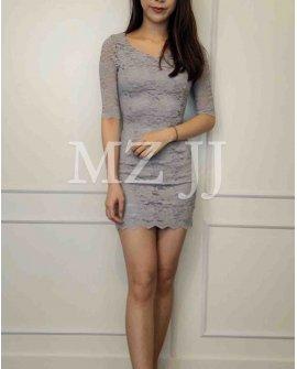 OP14283LGY Dress