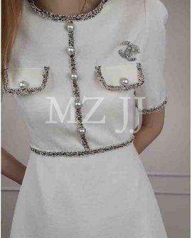 OP14332WH Dress