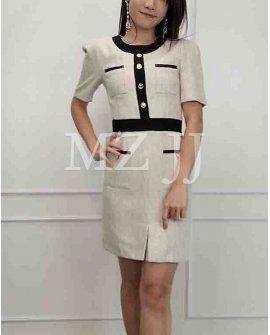 OP14356WH Dress