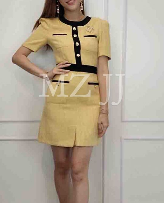 OP14356YL Dress