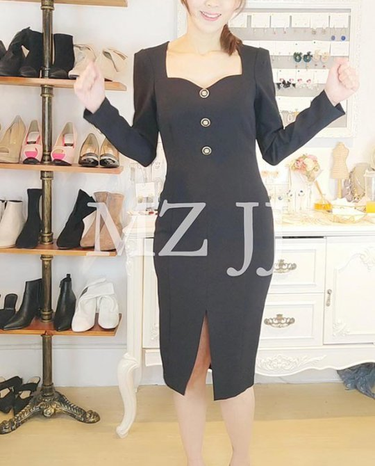 OP14157BK Dress