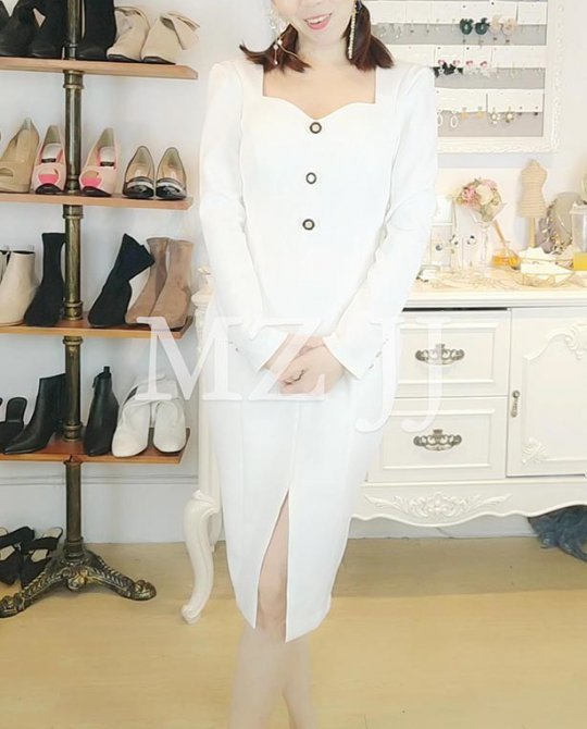 OP14157WH Dress