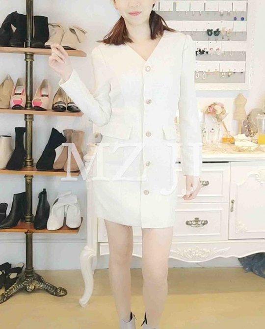 OP14158WH Dress