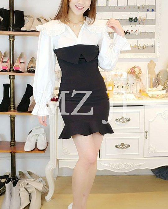OP14169WH Dress