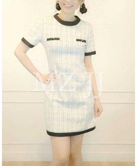 OP14184WH Dress