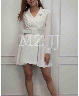 OP14361WH Dress